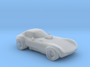 Cheetah 1:160 scale in Smooth Fine Detail Plastic