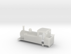 009 large 0-6-2t in Smooth Fine Detail Plastic