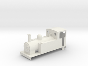 1n3 Freelance 0-6-0t in White Natural Versatile Plastic