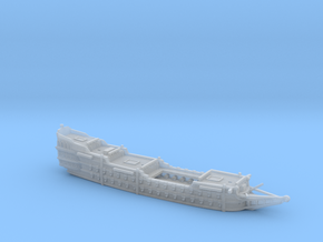 1/700 Galleon (Hull) in Smooth Fine Detail Plastic