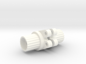 Wrapter for Losi Mini Rock Crawler in White Strong & Flexible Polished
