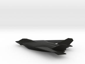Lockheed Martin / Boeing AFX / A/FX-653 in Black Natural Versatile Plastic: 1:200