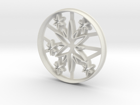 Cookie cutter Twilight Sparkle cutie mark MLP in White Natural Versatile Plastic