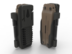 Holster for Leatherman ST300M in Black Natural Versatile Plastic