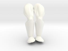 Gamemaster Legs VINTAGE in White Processed Versatile Plastic