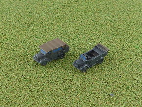 German Mercedes L1500A Truck 1/285 in Smooth Fine Detail Plastic