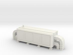 Air Handling Unit 1/43 in White Natural Versatile Plastic