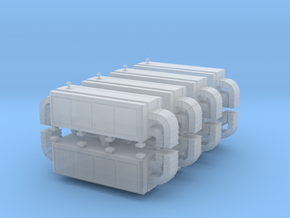 Air Handling Unit (x8) 1/500 in Smooth Fine Detail Plastic