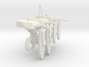 1/350 Heavy Cruiser Furutaka (1942) Armament in White Natural Versatile Plastic
