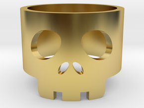 Bawd Band Size US 6½ in Polished Brass