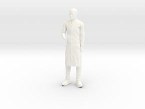 Jonny Quest - Dr Zin in White Processed Versatile Plastic