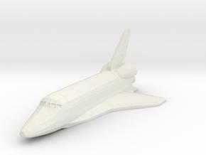 Space Shuttle spacecraft in White Natural Versatile Plastic