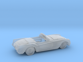HO Scale 1955 Corvette in Smooth Fine Detail Plastic