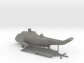 Westland WS-61 Sea King in Gray PA12: 1:200