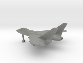 Vought F7U Cutlass in Gray PA12: 1:200