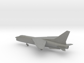 Vought F-8 Crusader in Gray PA12: 1:200