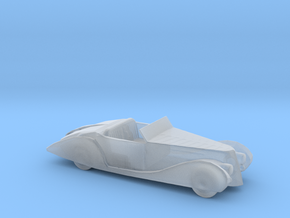 O Scale 1939 Delahaye in Smooth Fine Detail Plastic