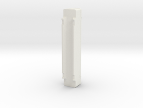 A-Stack Container SFCM 950004 in White Natural Versatile Plastic: 1:87 - HO