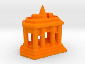 Sanctuary in Orange Processed Versatile Plastic