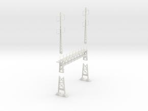 PRR signal lattice 2-2x2-2_3 track in White Natural Versatile Plastic