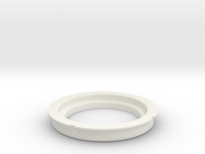 S2 Gauge holder in White Natural Versatile Plastic