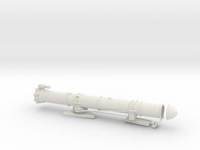 1/29 US PT Boat 109 Torpedo Tube Port KIT in White Natural Versatile Plastic