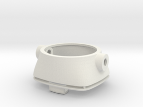 Gauge adaptor for VNA in White Natural Versatile Plastic