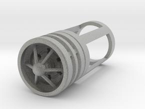 Blade Plug - Deathstar in Metallic Plastic