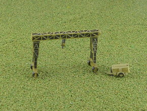 German 16to Strabo Crane 1/285 in Smooth Fine Detail Plastic