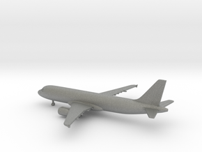 Airbus A320 in Gray PA12: 1:400