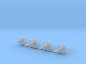 5 cm Pak 38 (x4) 1/144 in Smooth Fine Detail Plastic