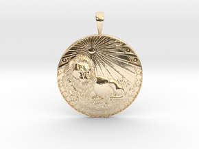 Leo in 14K Yellow Gold