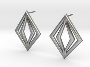 Diamond Inside in Natural Silver