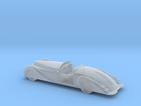 S Scale 1949 Delahaye in Smooth Fine Detail Plastic