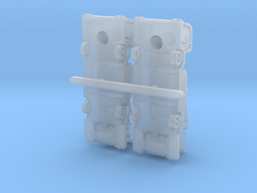 Lavatory Truck ver2 in Smoothest Fine Detail Plastic: 1:200