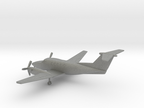 Beechcraft Super King Air 200 in Gray PA12: 1:200