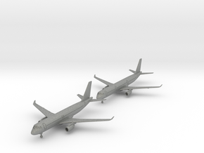 A320 & A321 w/Gear (PA12) in Gray PA12: 1:700