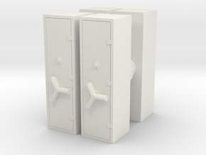 Large Safe (x4) 1/87 in White Natural Versatile Plastic