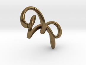 Hourglass in Natural Bronze