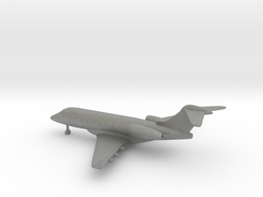 Bombardier Challenger 300 in Gray PA12: 6mm