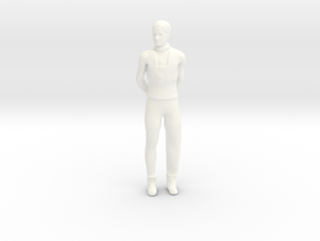 Lost in Space - 1.24 - Dr Smith Casual in White Processed Versatile Plastic