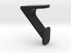 Badge support or stand in Black Natural Versatile Plastic: Small