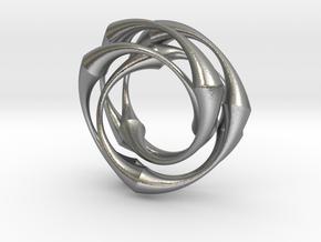 Vortex in Natural Silver
