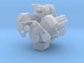 1/24 1/25 1UZ V8 in Smooth Fine Detail Plastic