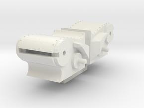 NS 3900  cilinders compleet aanp trapezium zand 87 in White Natural Versatile Plastic