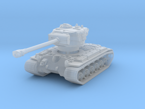 T-26E5 Pershing (no skirts) 1/285 in Smooth Fine Detail Plastic