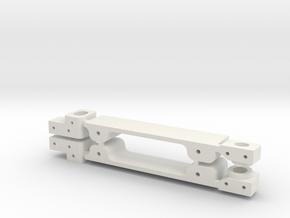 BRM Porsche 911 Turbo Adapter Kit in White Natural Versatile Plastic