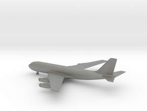 Boeing 707 in Gray PA12: 1:500