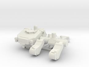 Gundam 1:144 IBO MOBILEWORKER Ground Type in White Natural Versatile Plastic