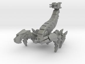 Mecha Scorpion monster miniature model games kaiju in Gray PA12
